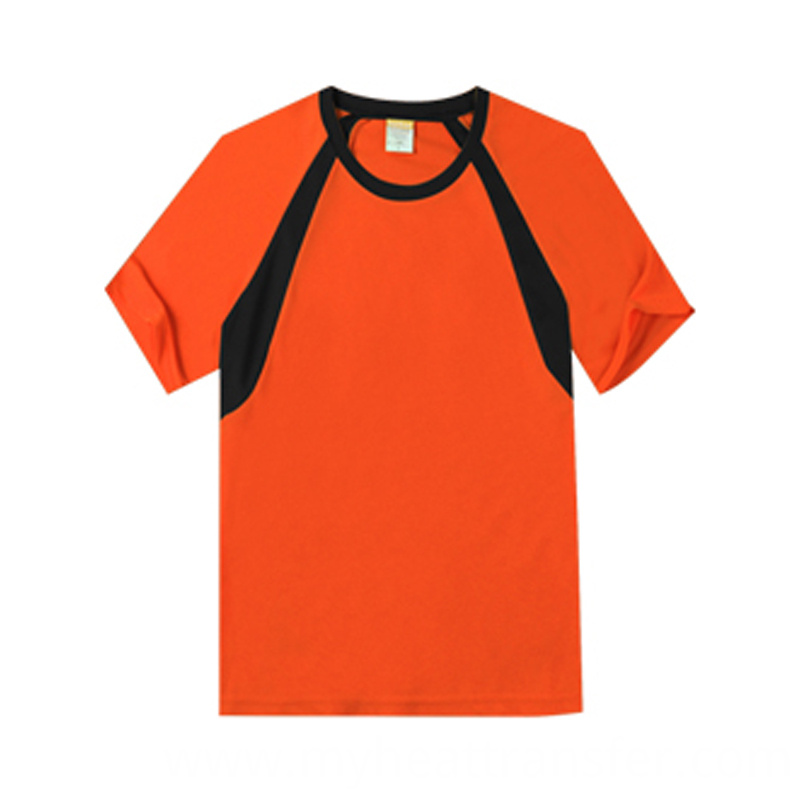 Short sleeved sportwear