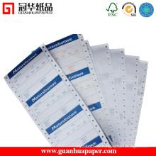 Mejor precio excelente calidad de papel continuo de la computadora