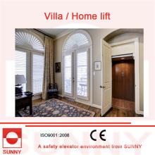Safe operação Villa Elevador com eficaz e Energy-Saving Host, Sn-EV-044