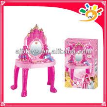 Mode Design Beleuchtung Klavier Spielzeug Mädchen Make-up Set Schönheit Spiel Set Spielzeug