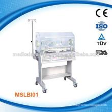 MSLBI01W Vorzeitiger Krankenhaus-Baby-Inkubator zum Verkauf mit LED-Anzeige