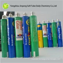 Tubo plegable de aluminio para pegamento