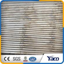 2016 nuevo tipo de acero inoxidable 316l autolimpiante cuña de filtro de limpieza