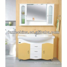 2013 Glass Doors White laundry cabinet