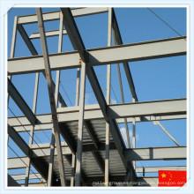 Estructura de marco de acero de alta resistencia económico Q235 Q345 de China