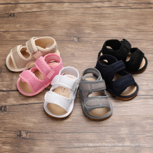 Superstarer Wholesale Cheap Summer Non Slip Children′s Sandals Toddler Shoes Rubber Sole Baby Shoes China