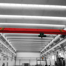 5Ton Single Beam Overhead Lifting Cranes With Hoist