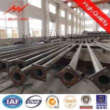 Poste de iluminación solar certificado ISO 12m 50W