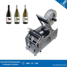 High Speed Manual Bottle Labeler Wine