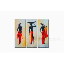 Peinture à l'huile Figure Femme