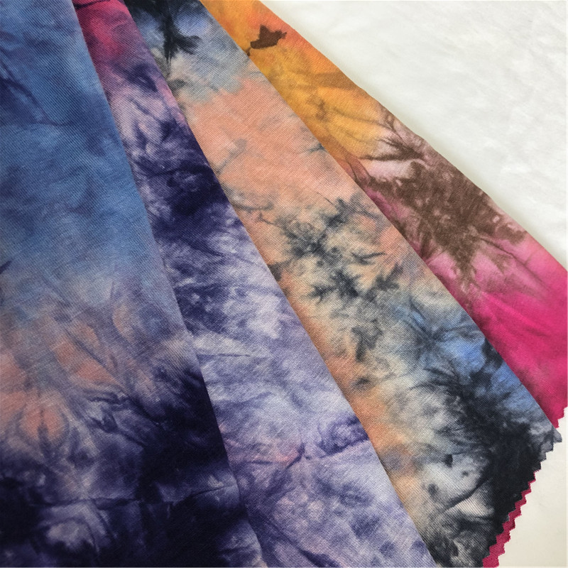 Colorful Tie Dye Soft Fabric