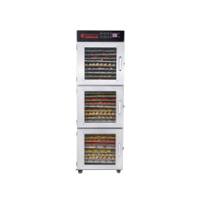 Commercial Dehydrator Food Dryer with 30 Trays Food Meat Flower Fruits Vegetables 304 Stainless Steel 50*40*140cm 110/220V 2020