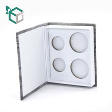 Caja de empaquetado de la sombra de ojos del regalo de la impresión del logotipo del diseño de la marca privada