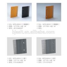 Rolltreppe Aluminium Kamm Platte / Rolltreppe Komponenten / dekorative Platten