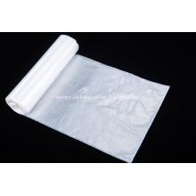 Bolsa de basura de plástico grande blanca