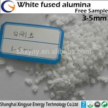 Corindo branco, alumina fundida branca, pó natural de corindo a baixo preço