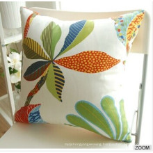 100% Cotton Solid Color Sofa Cushion Bed Pillow