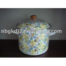 The Porcelain Enamel Deep Stock Pot