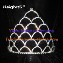 5inch Crystal Pageant Crowns