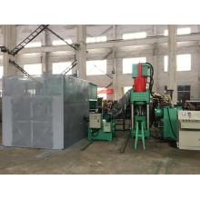 Automatische Kupferscheiben-Chips-Brikett-Maschine zum Schmelzen