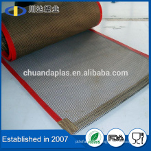 Good quality PTFE coated fiberglass mesh teflon conveyor belt