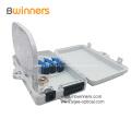 Caja de terminación de fibra óptica de plástico de 6 núcleos