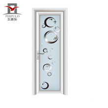 2018 single leaf latest design aluminium bathroom door for Phipulo
