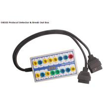 Detector del Protocolo de OBD II Breakout Box Chip Tuning y programación clave