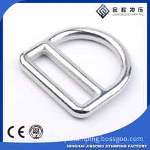 Hot sale zinc alloy d ring bag hardware fitting d ring for women fashion bag decoration