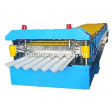 Máquina de fabricação de chapas de telhado ondulado de metal com melhor venda
