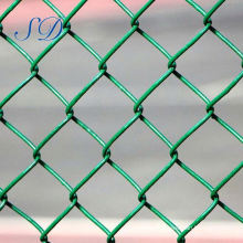10 Gauge Green Chain Link Fence For Baseball Fields