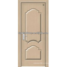 Лучшая цена двери/древесина двери с ПВХ лист покрыты за дверь дизайн интерьера