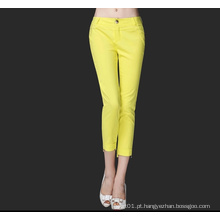 Novas senhoras moda sexy Slim mulher calças para o verão