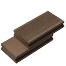 Decking composto reciclável Eco-Amigável para a placa exterior da decoração