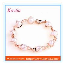 Neues Produkt billig Großhandel Perle Armband personalisiert für Mädchen