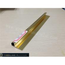 Alumínio Radius Tile Trim em Anodizado imitação Titanium Gold Color
