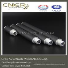 Tubo de fibra de carbono 3K Weave para llave de temperamento de piano, Llave de adaptación de fibra de carbono para piano
