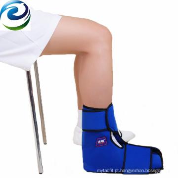 Bloco de gelo frio do gel do tornozelo de nylon de Velvet do PVC de Avavilable da amostra