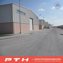 Projet dans l'entrepôt préfabriqué de structure en acier de Bahreïn