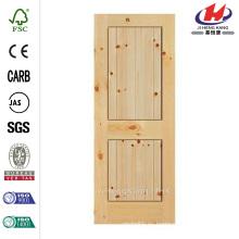 36 pulg. X 84 pulg. Panel de chapa de madera de madera maciza Interior de madera maciza Panel de madera