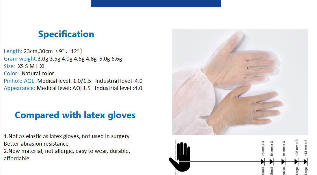 disposable pvc gloves 2