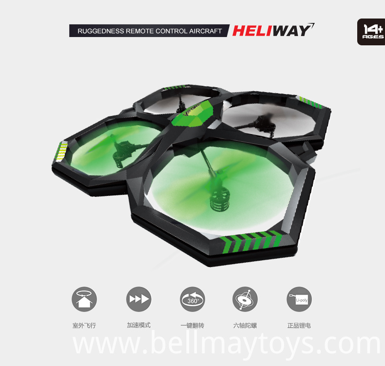 360 Degrees Rolliong Drone
