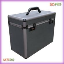 Personalizado caso de alumínio ferramenta de cabeleireiro para barbeiro (satc002)