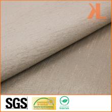 Полиэстер Непосредственно огнестойкий жаккардовый коричневый тканый огнеупорный занавес / диван-ткань
