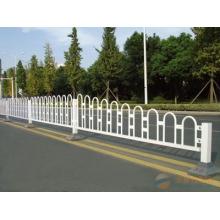 С покрытием из ПВХ или оцинкованной переносной забор
