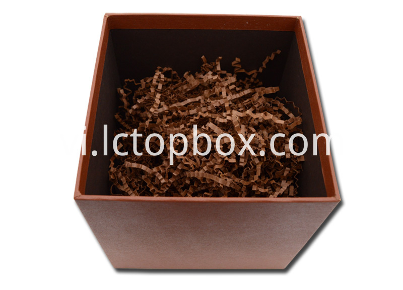 Customized brown paper box