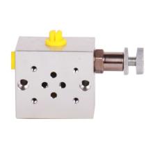 Projeto múltiplo do bloco da válvula do regulador de pressão do solenóide