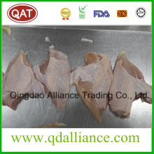 Viande de poitrine de poulet Halal Frozen avec peau sur