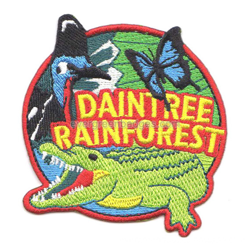 Embroidered badges 20
