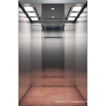 Ascenseur de passager de Fujizy avec l'acier inoxydable délié